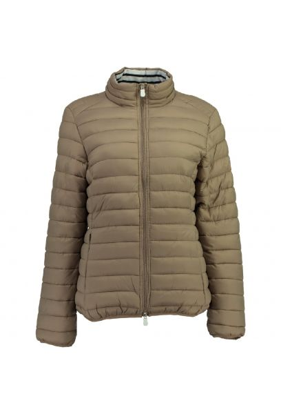 CHAQUETA DE MUJER DINETTE BASIC 056 TAUPE